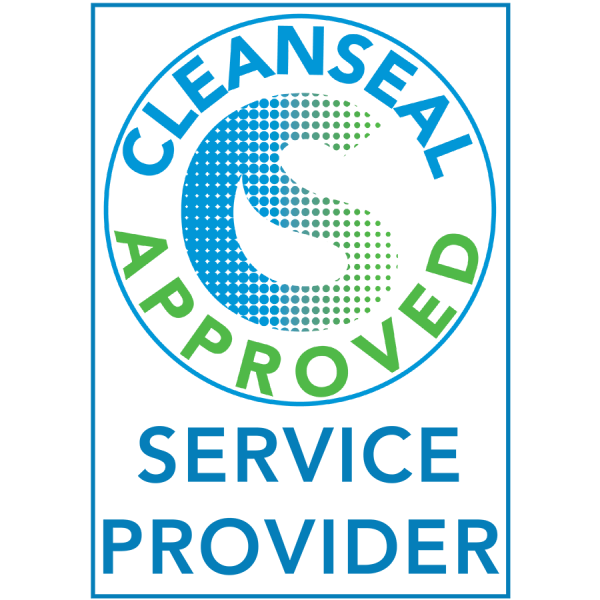 Accreditations and Awards - CleanSeal Service Provider - verticle 2021 - Nice Threads Carpet Cleaning