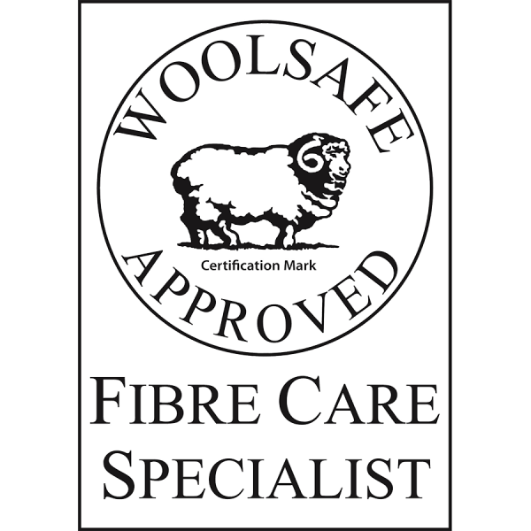 Accreditations and Awards - Woolsafe Fibre Care Specialist - Nice Threads Carpet Cleaning